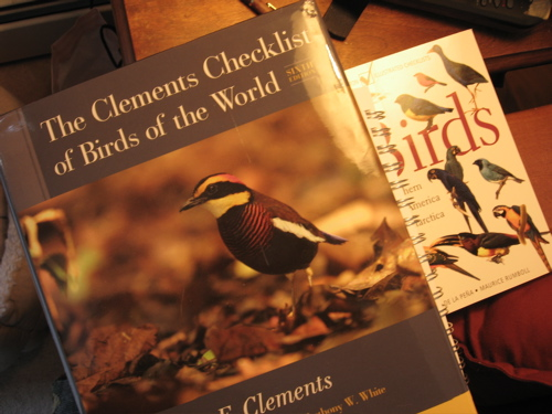 Clements Checklist of Birds of the World